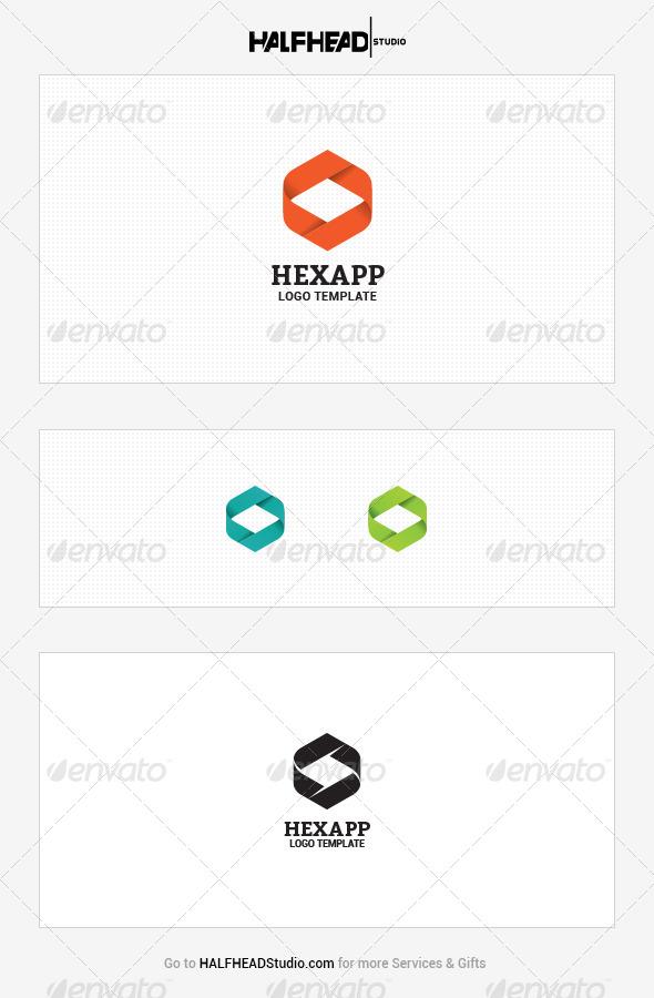 GraphicRiver Hexapp Logo Template 7681628