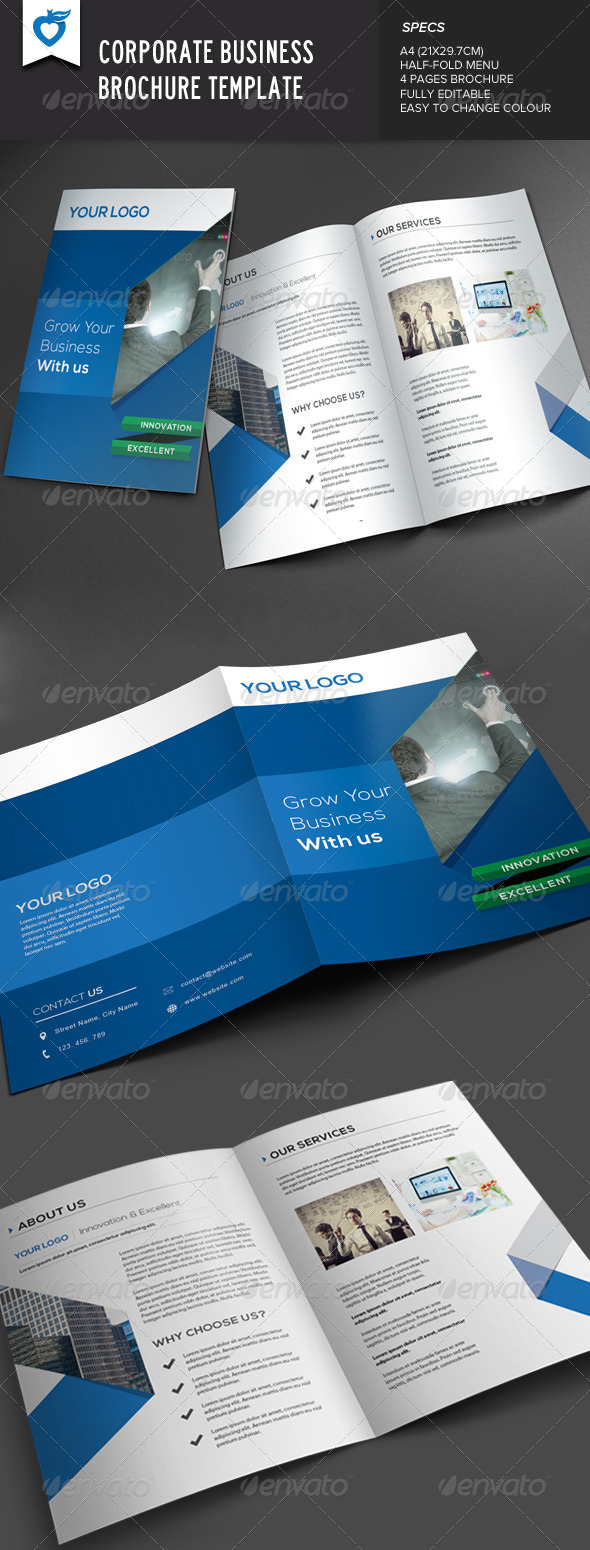 GraphicRiver Corporate Business Brochure 7666774
