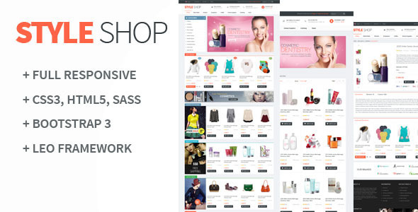 Leo StyleShop is first template support multiple-store. This layout is bright and strict at the same time which makes a proper effect on customer. Template desi