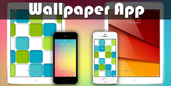 CodeCanyon Wallpaper App 7682214