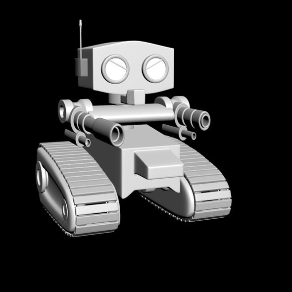 3DOcean Robot bodyguard 7659983