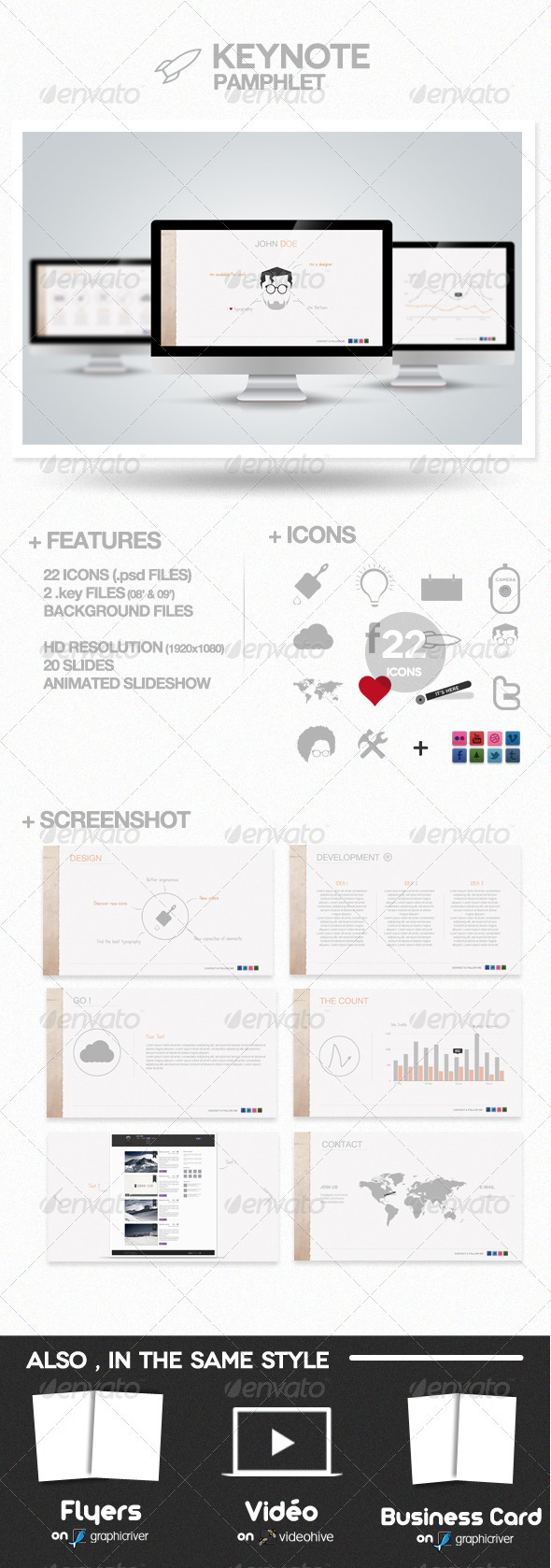 GraphicRiver Pamphlet Presentation 786097
