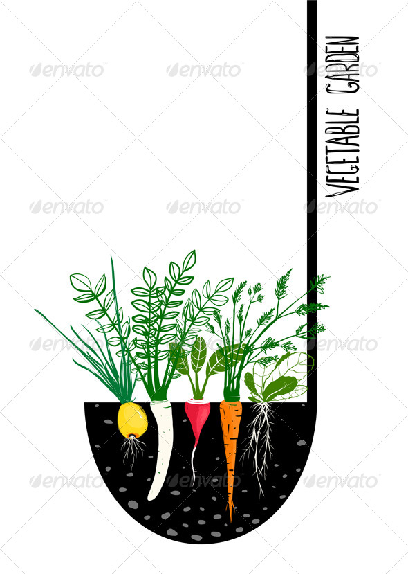 GraphicRiver Grow Vegetable Garden and Cook Soup 7683933