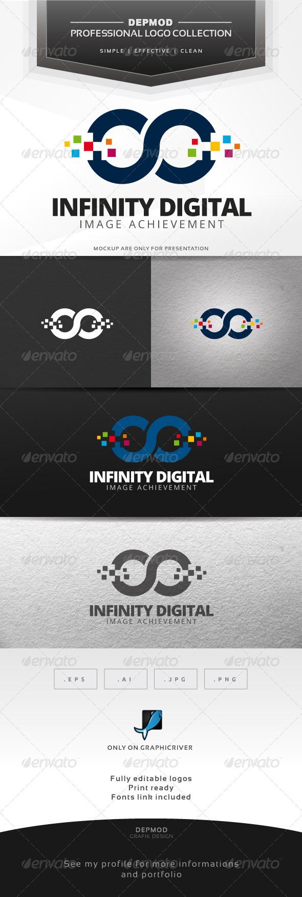 GraphicRiver Infinity Digital Logo 7684534