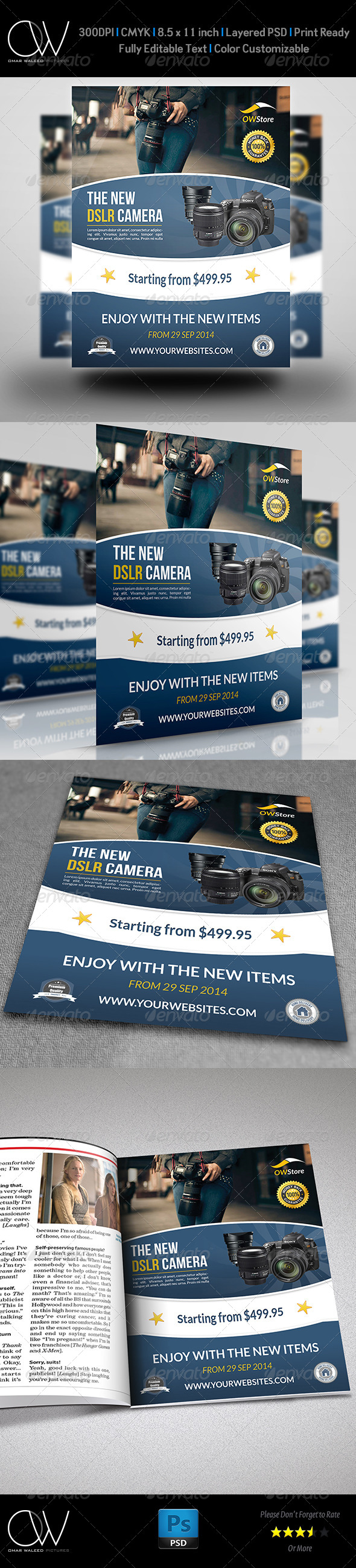 GraphicRiver New Arrival Flyer Template Vol.3 7684786