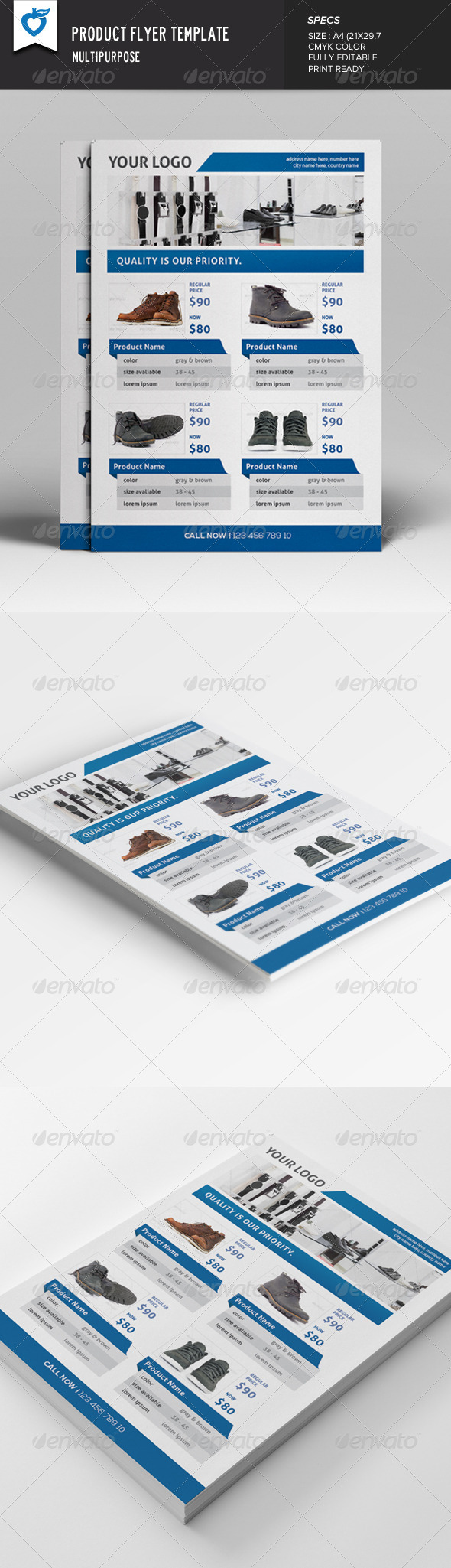 GraphicRiver Product Flyer 7684918