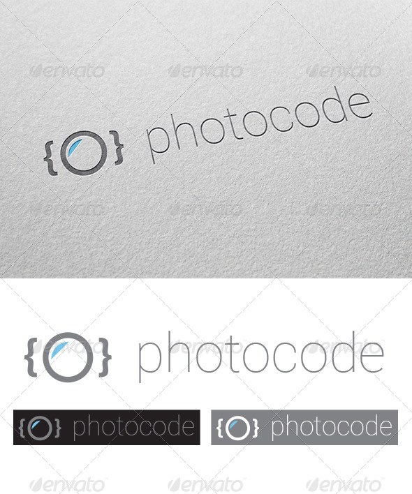 GraphicRiver Photocode Logo 7685021