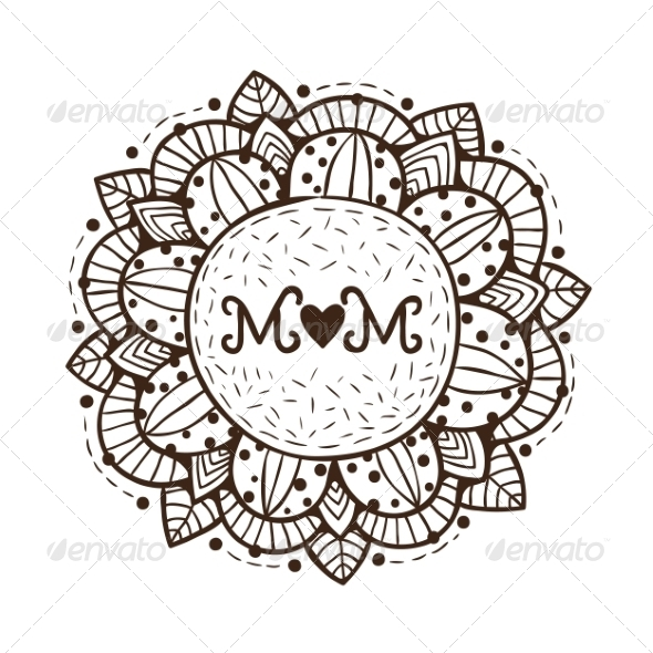 GraphicRiver Happy Mother Day Design Element 7685029