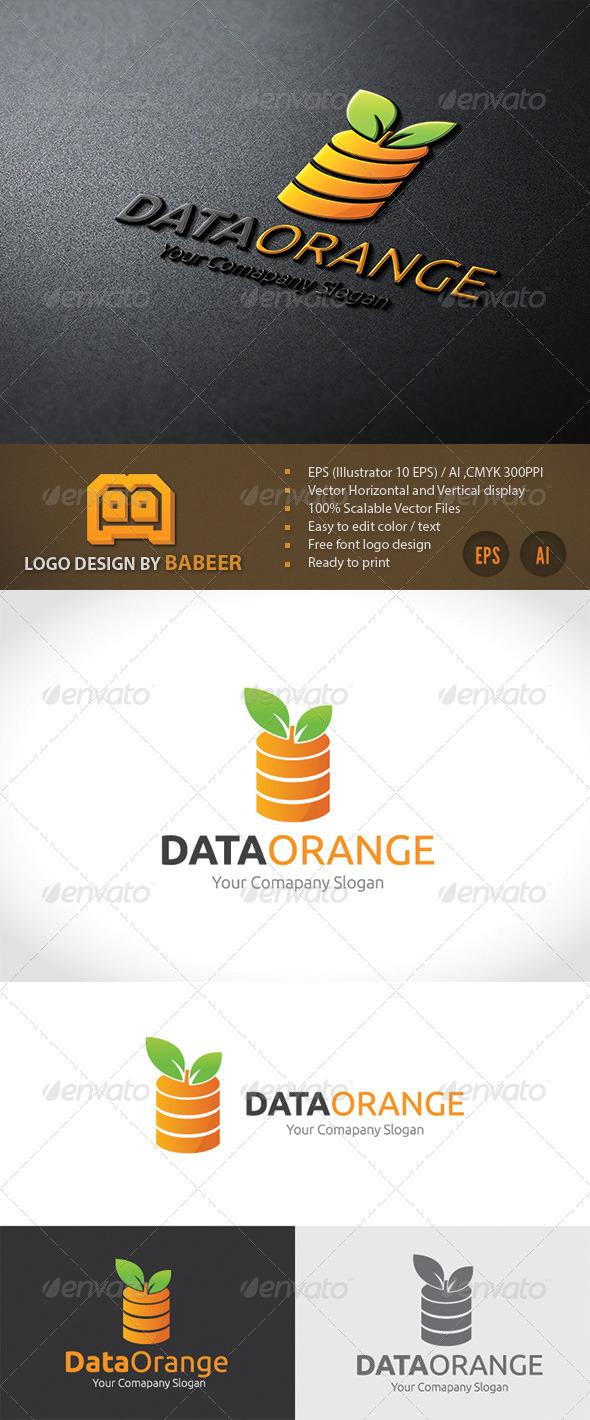 GraphicRiver Data Orange 7685038