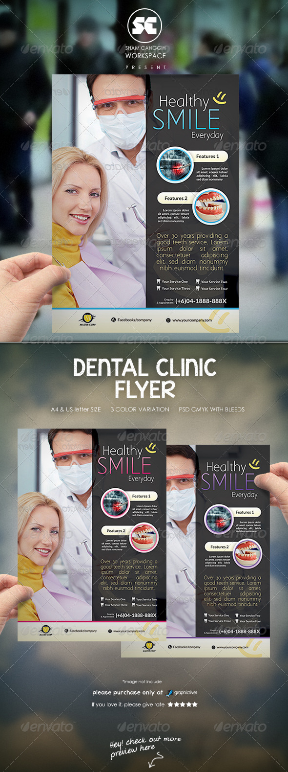 GraphicRiver Dental Flyer Magazine Ads 7685110