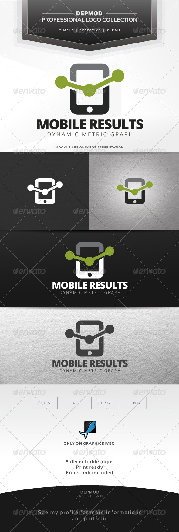 GraphicRiver Mobile Results Logo 7685151