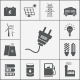 Electricity and Power Icons - GraphicRiver Item for Sale