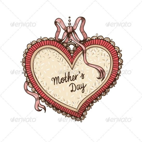GraphicRiver Frame with Text for Mother s Day 7685709