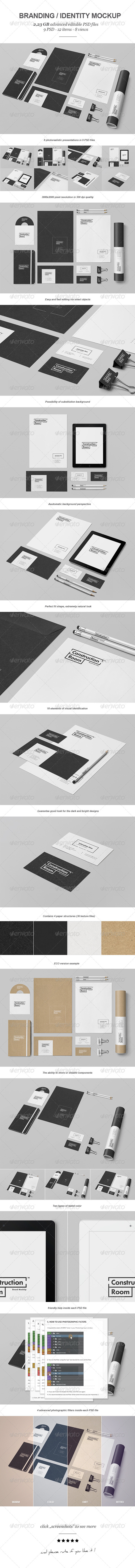GraphicRiver Branding Identity Mock-up V 7685765