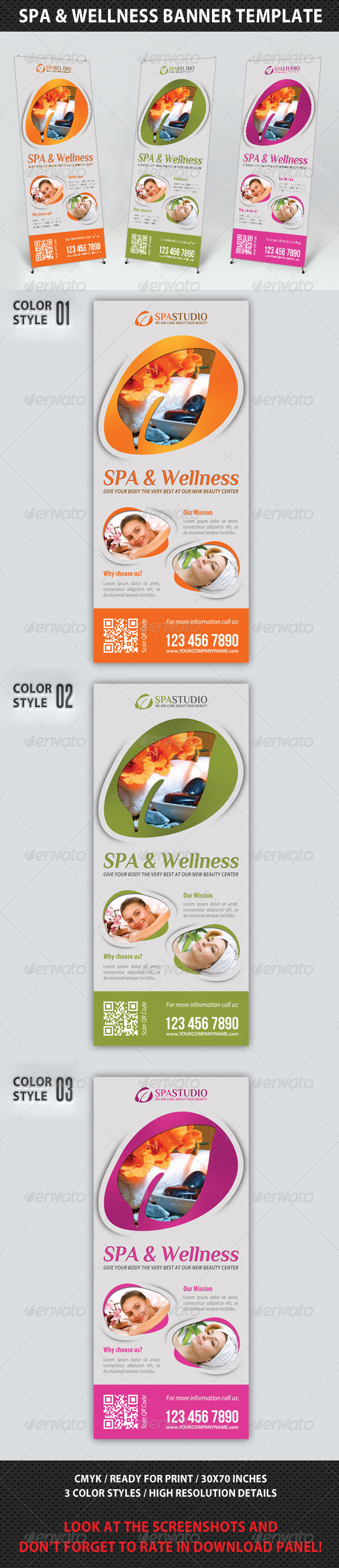 GraphicRiver Spa Studio Multipurpose Banner 16 7685820