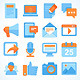 Blogging Icons - GraphicRiver Item for Sale