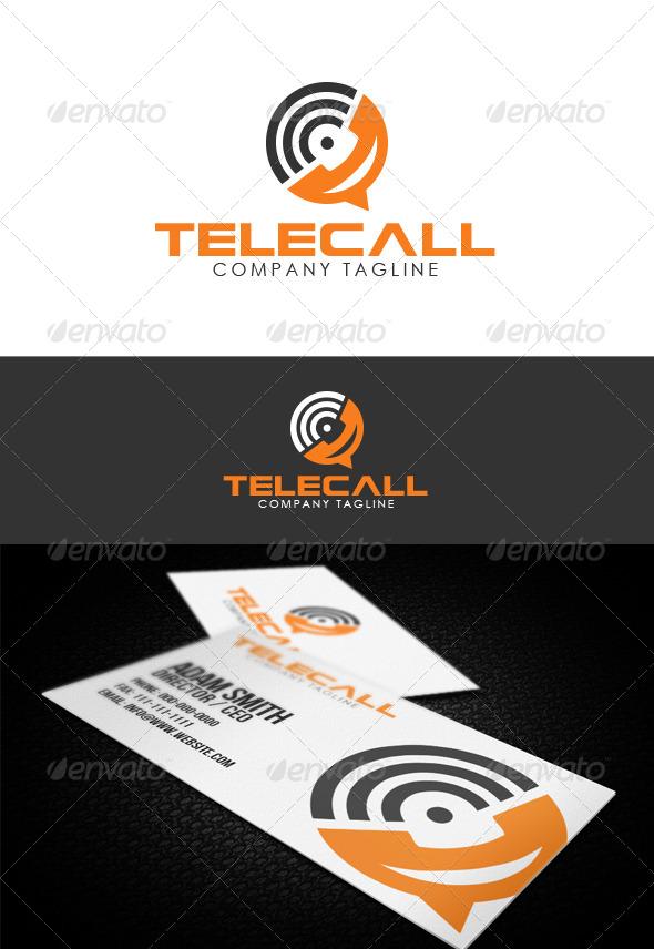 GraphicRiver Telecall Logo 7686315
