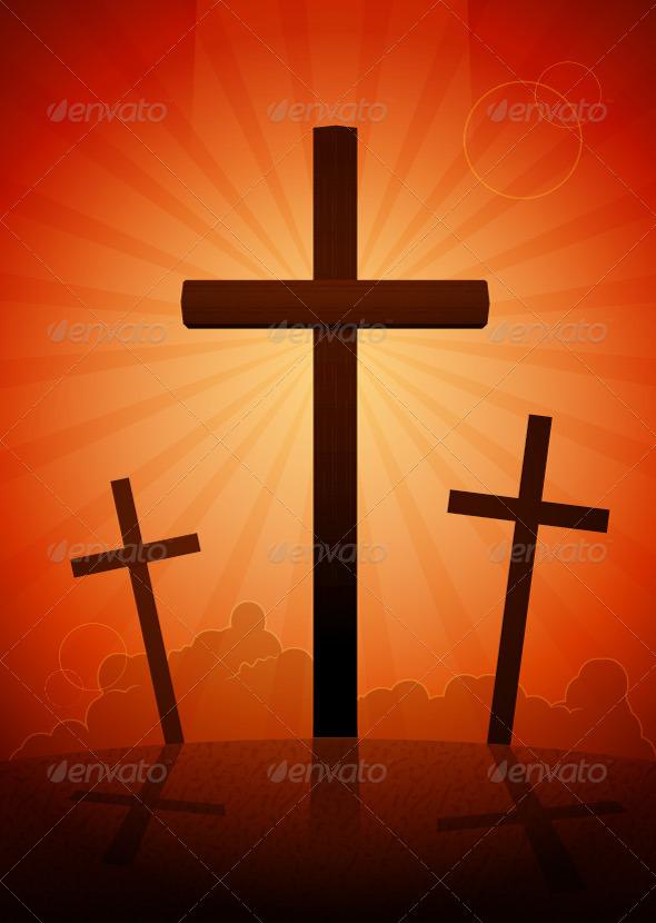 GraphicRiver Crosses 7687194