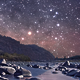 Starry Night Over the River - VideoHive Item for Sale