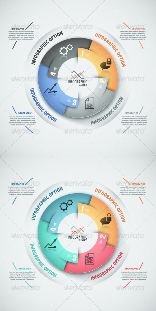 GraphicRiver Modern Infographic Options Banner 2 Versions 7687425