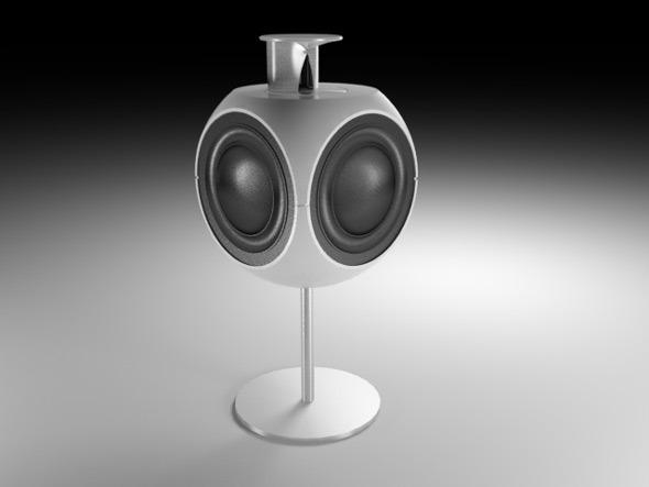 3DOcean Beo Lap 3 Speaker 7687439