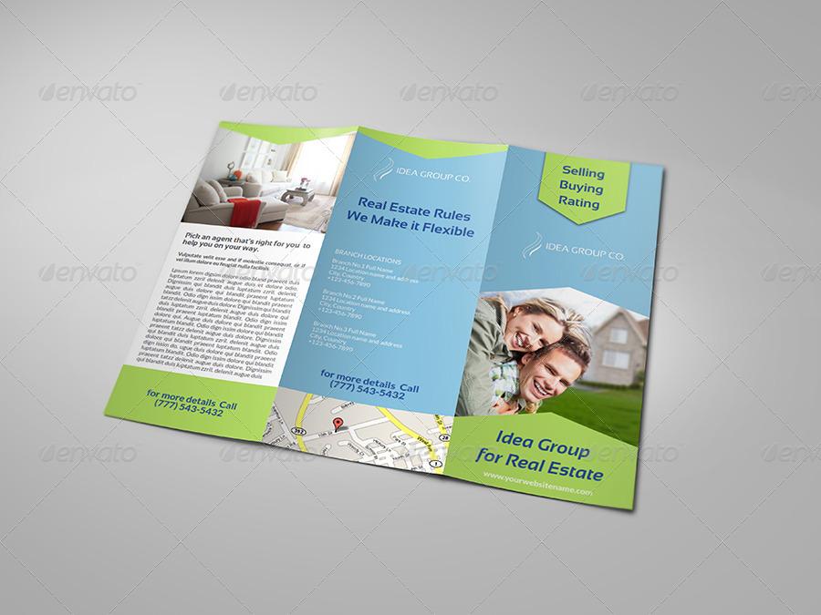 real estate tri fold brochure template - real estate tri fold brochure template by owpictures