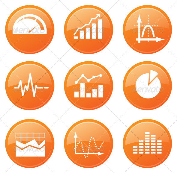 GraphicRiver Performance Graph Icon Set 7687809