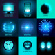 Vector Glow In The Dark Collection - GraphicRiver Item for Sale