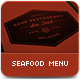 The Seafood Menu - GraphicRiver Item for Sale