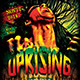 Reggae Uprising Flyer Template - GraphicRiver Item for Sale
