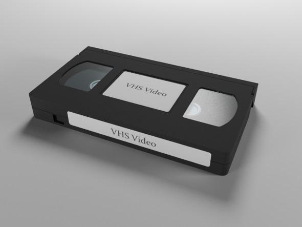 3DOcean VHS Video Cassette 7687965