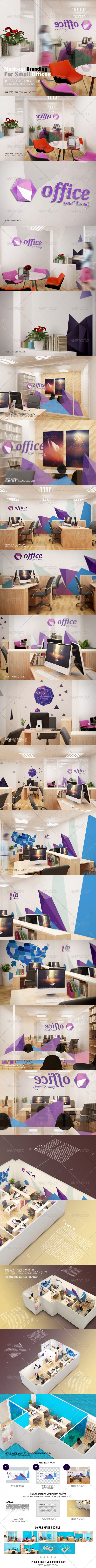 GraphicRiver Mockup Branding For Small Offices 7688046