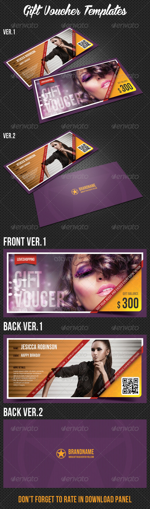 GraphicRiver Gift Voucher V01 7688061
