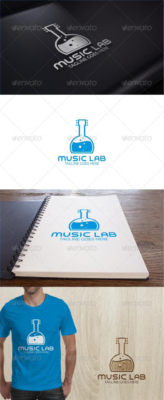 GraphicRiver Music Lab Logo Template 7651865