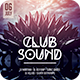Club Sound Flyer - GraphicRiver Item for Sale