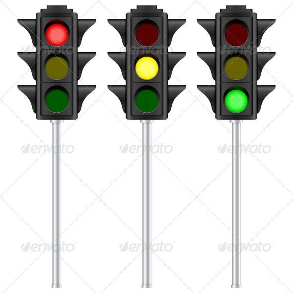 GraphicRiver Traffic Light 7690166