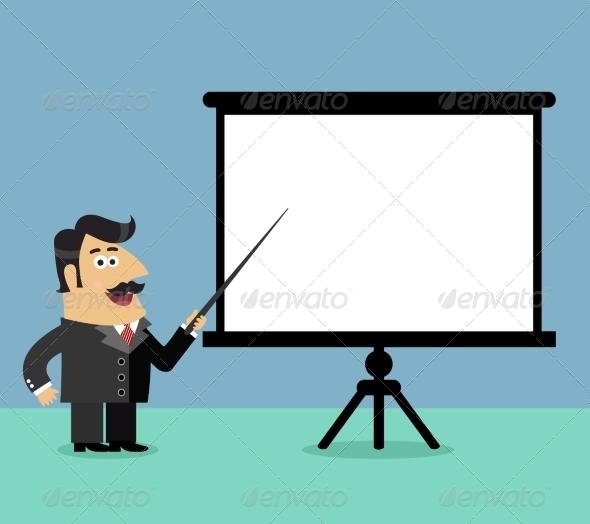GraphicRiver Business Presentation Scene 7690198