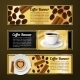 Coffee Banners Horizontal - GraphicRiver Item for Sale