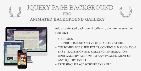 CodeCanyon jQuery Page Background Pro 7690770