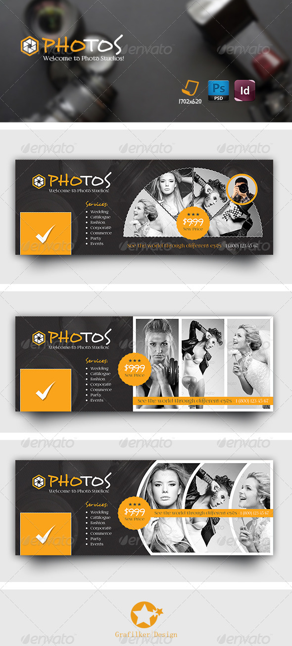 GraphicRiver Photography Timeline Templates 7690827