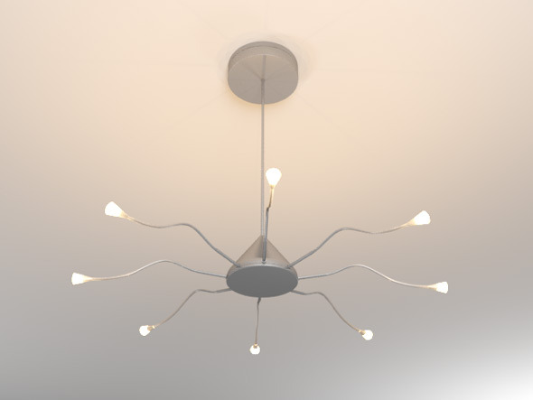 Ikea Ceiling Lamp - 3DOcean Item for Sale