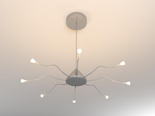 3DOcean Ikea Ceiling Lamp 7690935