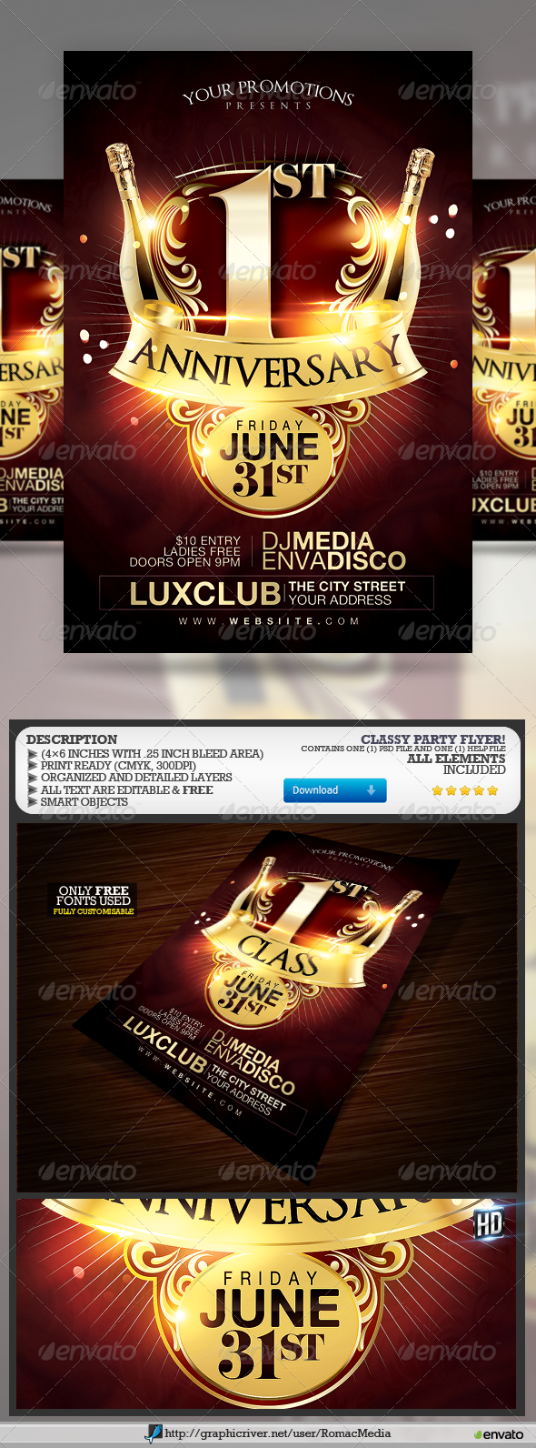 GraphicRiver Classy Party 7691448