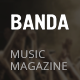 Banda - WordPress Music Magazine - ThemeForest Item for Sale