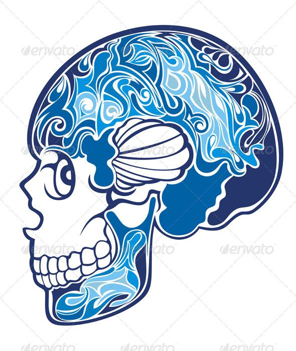 GraphicRiver Skull 7691825