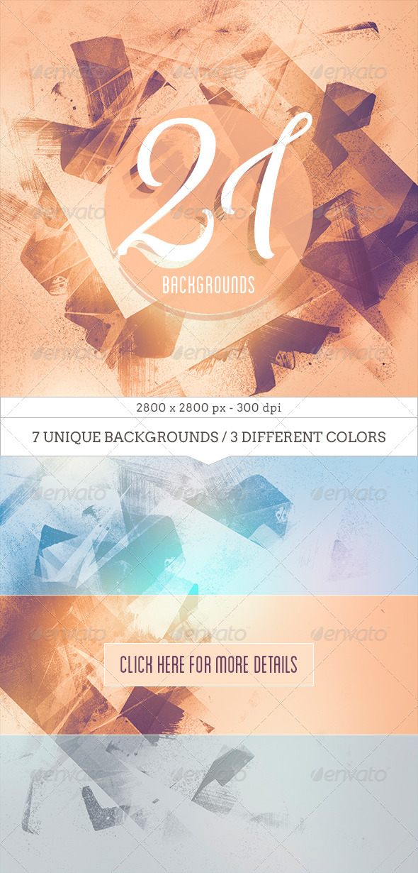 GraphicRiver 21 Light Abstract Backgrounds 7692376