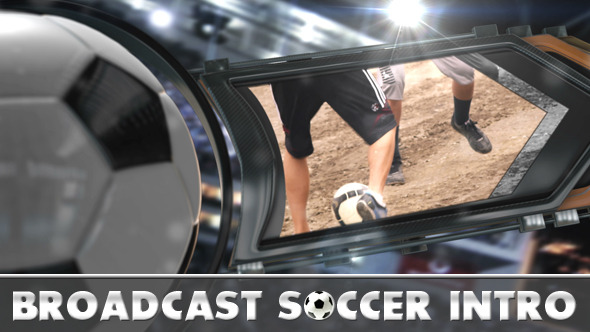 Broadcast Soccer Intro