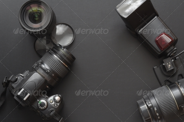 photography with camera - Stock Photo - Images