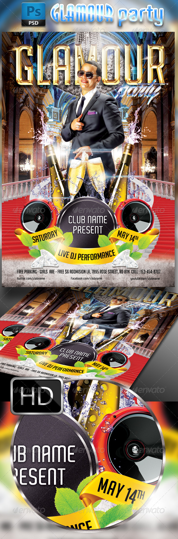 GraphicRiver Glamour Party 7669417