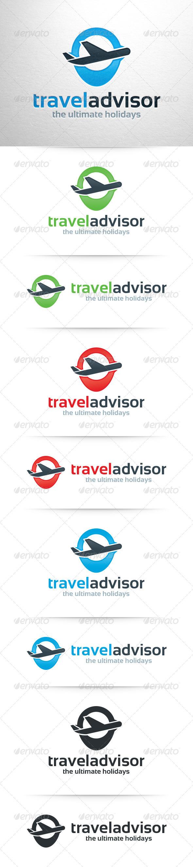 GraphicRiver Travel Advisor Logo Template 7692595